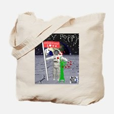 Poppy out of this world Tote Bag