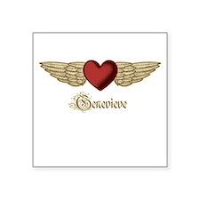Genevieve the Angel Sticker