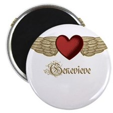 """Genevieve the Angel 2.25"""" Magnet (10 pack)"""