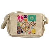 Retro Canvas Messenger Bags