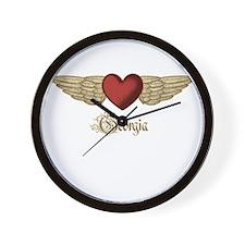 Georgia the Angel Wall Clock