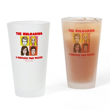 Fruitless Time Waster Drinking Glass