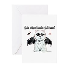 Spooktacular Westie Greeting Cards (Pk of 10)