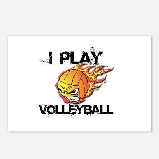 I play Volleyball Postcards (Package of 8)