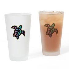 see turtle heart Drinking Glass