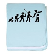 Bodybuilding baby blanket