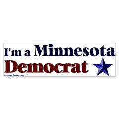 Minnesota Democrat Bumper Bumper Sticker