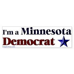 Minnesota Democrat Bumper Bumper Sticker
