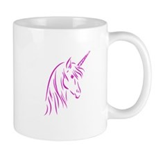 Pink Unicorn Small Mug