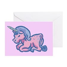 Cute Unicorn Greeting Card