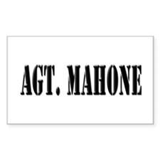 Agt. Mahone - Prison Break Rectangle Decal