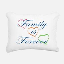 Family is Forever Rectangular Canvas Pillow