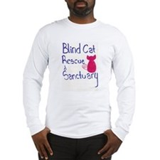 Blind Cat Rescue Long Sleeve T-Shirt