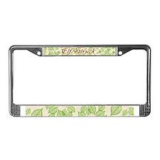 Elf Struck License Plate Frame