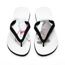 Snow Bear Flip Flops