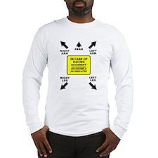 Reassemble Racing Funny T-Shirt Long Sleeve T-Shir