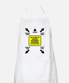 Reassemble Skiing Ski Funny T-Shirt Apron