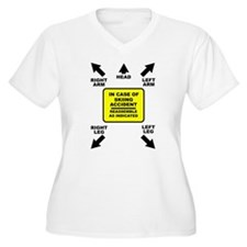 Reassemble Skiing Ski Funny T-Shirt Plus Size T-Sh
