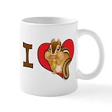 Chipmunk mug Coffee Mugs