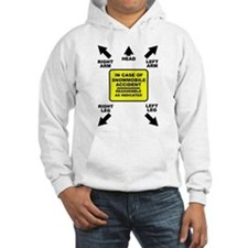 Reassemble Snowmobile Funny Hoodie
