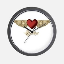 Heather the Angel Wall Clock