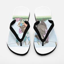 Laundry Line Flip Flops
