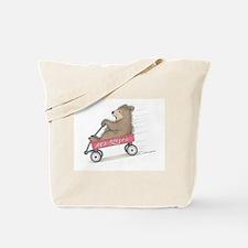Red Roller Racing Tote Bag