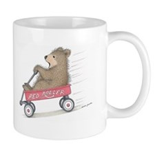 Red Roller Racing Mug