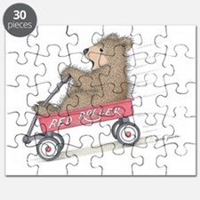 Red Roller Racing Puzzle