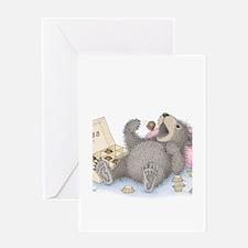 Beary Full of Truffles Greeting Card