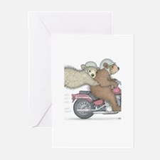 Hanging on for dear life Greeting Cards (Pk of 20)