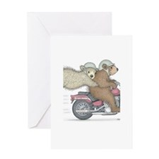 Hanging on for dear life Greeting Card
