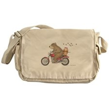 Honey on the Run Messenger Bag
