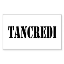 Tancredi - Prison Break Rectangle Decal