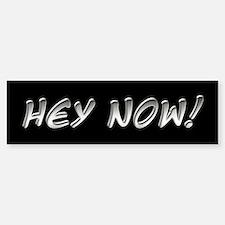 Hey Now - Howard Stern Show Bumper Bumper Bumper Sticker