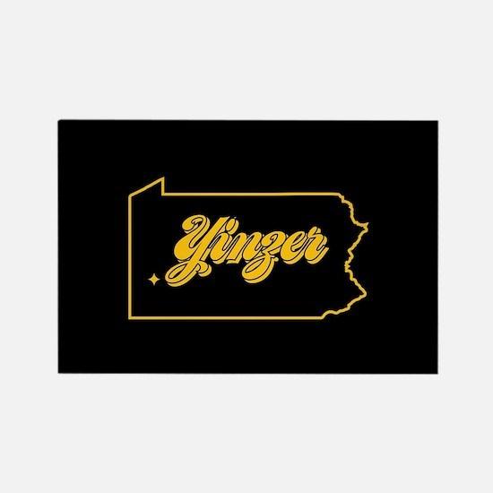 Pennsylvania Yinzer Rectangle Magnet
