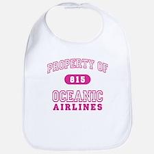 Oceanic Airlines (pink) Bib