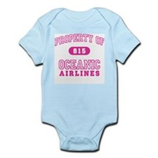 Oceanic Airlines (pink) Infant Bodysuit