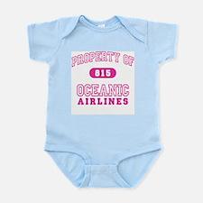 Oceanic Airlines (pink) Infant Bodysuit