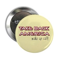 Take Back America Button