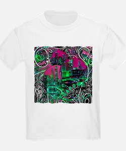 singapore art illustration T-Shirt
