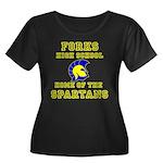 Forks HS 01.png Plus Size T-Shirt