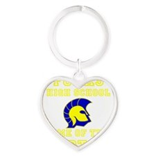 Forks HS 01.png Heart Keychain