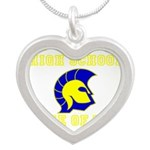 Forks HS 01.png Silver Heart Necklace