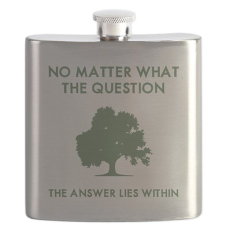 The Answer Lies Within Flask