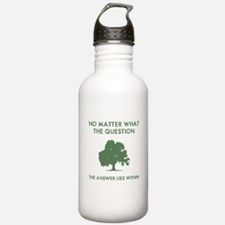 The Answer Lies Within Water Bottle