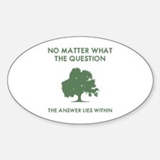 The Answer Lies Within Decal