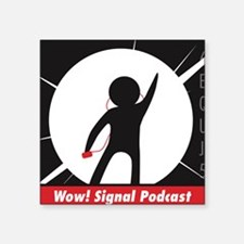 The Wow! Signal Podcast Sticker