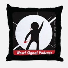 The Wow! Signal Podcast Throw Pillow