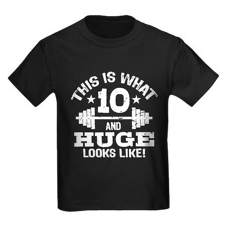10 Year Old Kids Dark T-Shirt